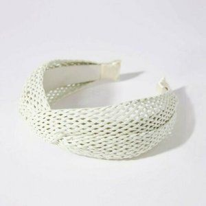 NEW Anthropologie Montana Woven Headband